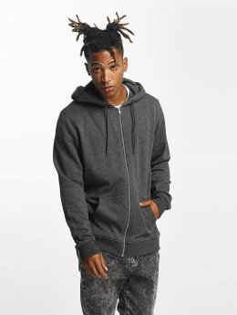 Urban Classics Sweat capuche zippé Basic gris