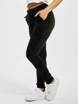Urban Classics Sweat Pant Ladies Velvet  black