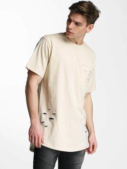 Urban Classics T-paidat Ripped beige