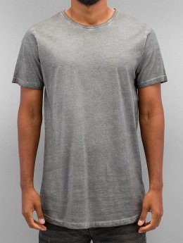 Urban Classics T-paidat Shaped Long Cold Dye harmaa