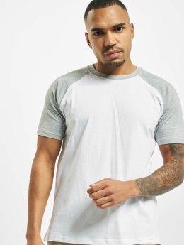 Urban Classics T-paidat Raglan Contrast valkoinen