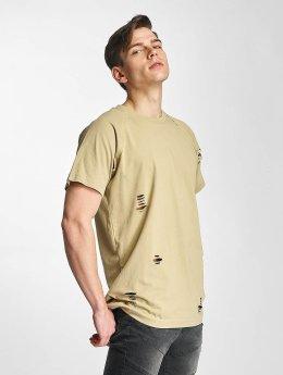 Urban Classics t-shirt Ripped beige
