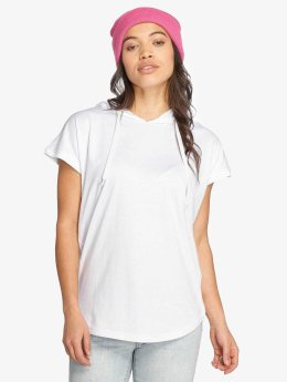 Urban Classics T-Shirt Jersey Hooded blanc