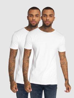 Urban Classics T-Shirt 2-Pack Seamless blanc