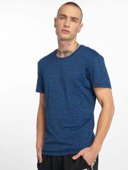 Urban Classics T-Shirt Active Melange blau