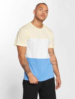 Urban Classics T-Shirt Color Block blau