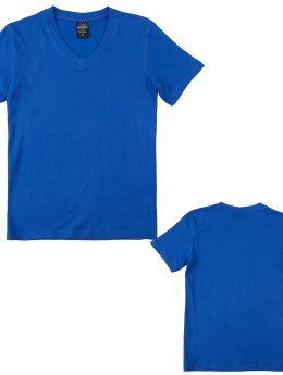 Urban Classics T-Shirt Basic Kids blau