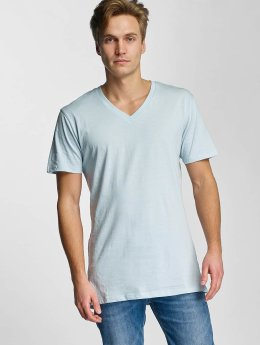 Urban Classics t-shirt Basic V-Neck blauw