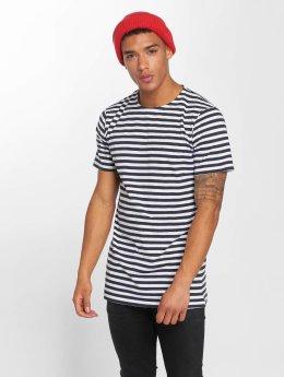 Urban Classics t-shirt Stripe blauw