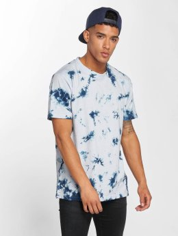 Urban Classics t-shirt Batik blauw