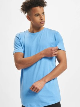 Urban Classics t-shirt Shaped Long blauw