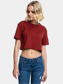 Urban Classics T-Shirt Cropped braun