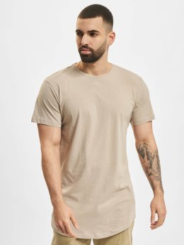 Urban Classics T-Shirt Shaped Long braun