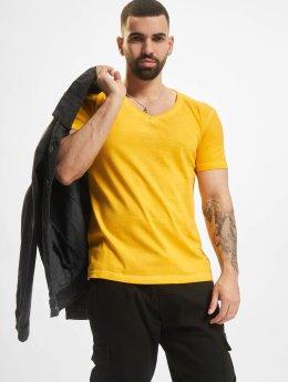 Urban Classics T-Shirt Spray Dye gelb