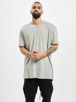 Urban Classics T-Shirt Urban Classics Long Tail T-Shirt grau