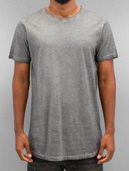 Urban Classics T-Shirt Shaped Long Cold Dye grau