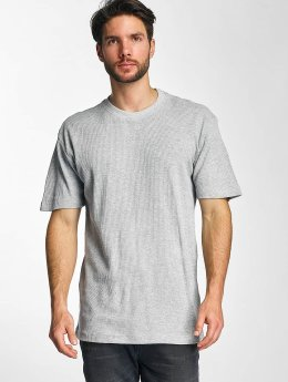 Urban Classics t-shirt Thermal grijs