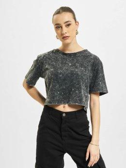 Urban Classics T-Shirt Random Wash Short Oversize gris