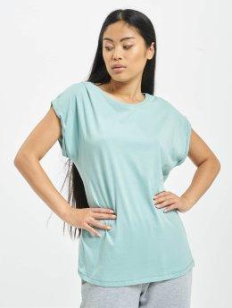 Urban Classics T-Shirt Extended Shoulder grün
