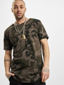 Urban Classics T-shirt long oversize Camo Shaped Long camouflage