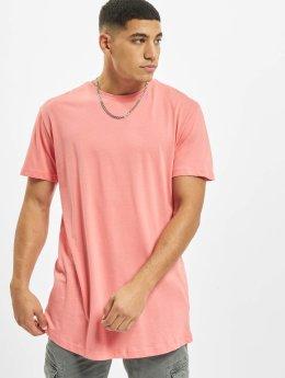 Urban Classics T-Shirt Shaped Long magenta