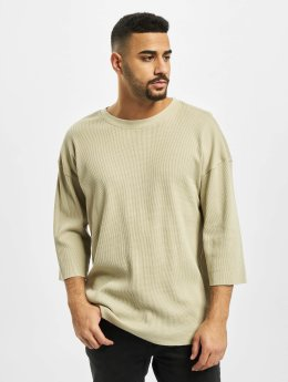 Urban Classics T-Shirt manches longues Thermal Boxy beige