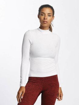 Urban Classics T-Shirt manches longues Turtleneck blanc