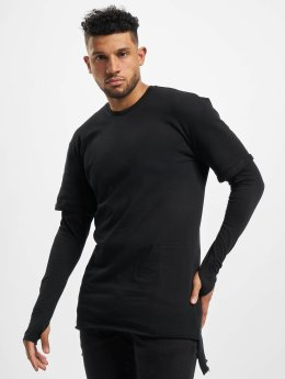 Urban Classics T-Shirt manches longues 2 in 1 Terry noir