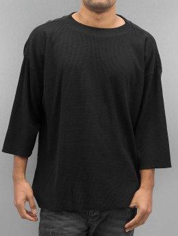 Urban Classics T-Shirt manches longues Thermal Boxy noir