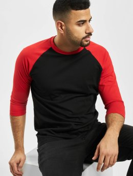 Urban Classics T-Shirt manches longues Contrast 3/4 Sleeve Raglan noir