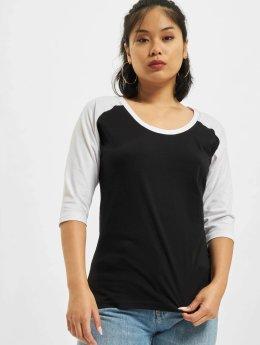 Urban Classics T-Shirt manches longues 3/4 Contrast Raglan noir