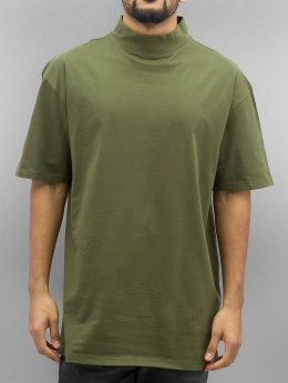 Urban Classics T-Shirt Oversized Turtleneck olive