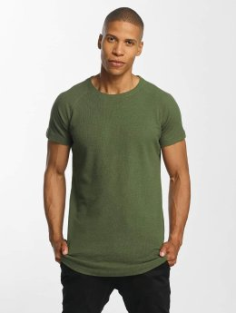 Urban Classics T-Shirt Thermal Slub olive