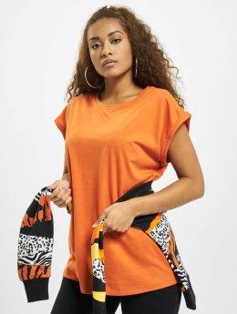 Urban Classics T-Shirt Extended Shoulder orange