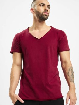 Urban Classics t-shirt Fitted Peached Open Edge rood