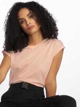 Urban Classics T-Shirt Extended Shoulder rosa