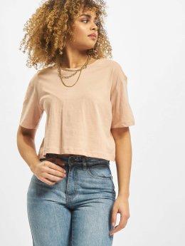 Urban Classics T-Shirt Cropped rosa