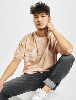 Urban Classics T-Shirt Camo rosa