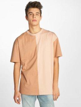 Urban Classics T-Shirt Harlequin Oversize rosa