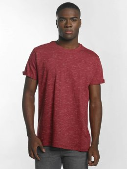 Urban Classics T-Shirt Space Dye Turnup rot