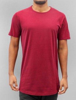 Urban Classics T-Shirt Peached Shaped Long rouge