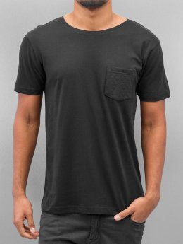 Urban Classics T-Shirt Quilted Pocket schwarz