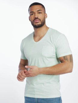 Urban Classics T-Shirt Melange Pocket turquoise