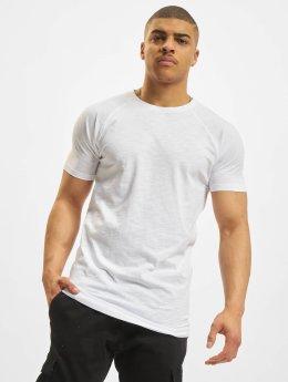 Urban Classics T-Shirt Long Shaped Slub Raglan weiß