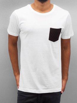 Urban Classics T-Shirt Quilted Pocket weiß