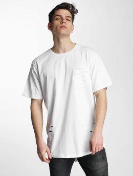Urban Classics T-Shirt Ripped weiß