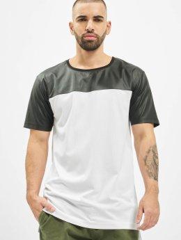 Urban Classics t-shirt Football Mesh Long wit