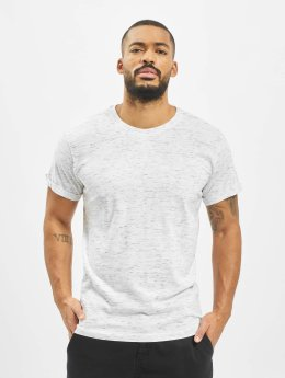 Urban Classics t-shirt Space Dye Turnup wit