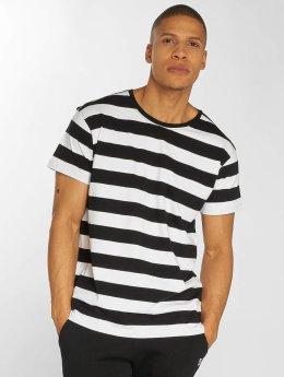 Urban Classics t-shirt Stripe zwart