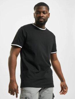 Urban Classics t-shirt College zwart
